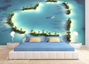 fototapete für schlafzimmer pelzstola vom atoll fototapete für schlafzimmer fototapeten demural
