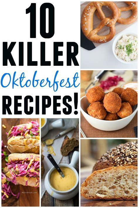 recette de cuisine allemande les 25 meilleures idées de la catégorie oktoberfest