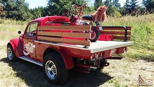 "1967 VW Bug Truck Fiberglass ""Domus Flatbed Conversion"""