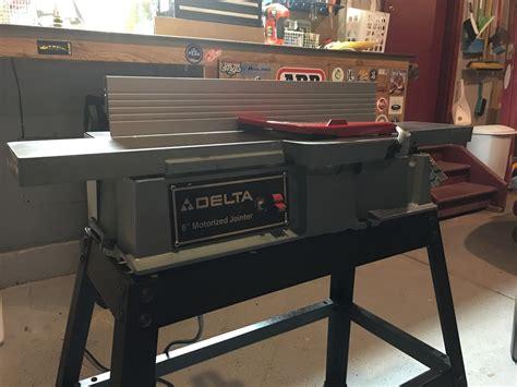 craigslist score  delta jointer  woodworking