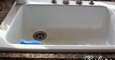 how to clean white porcelain sink circle and stone how to clean a porcelain sink