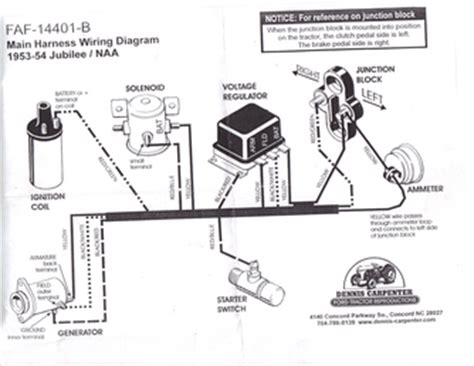 Ford Jubilee Wiring Diagram by Ford Golden Jubilee 1953 Tractorshed