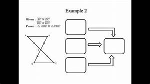 Triangle Congruence Proofs Flow Charts