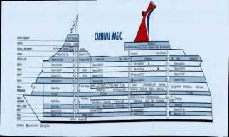 carnival magic ocean suite carnival magic cabins deck plan