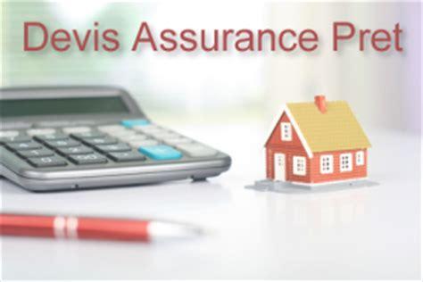 montant assurance pret immobilier devis assurance pret immobilier comparateur gratuit et rapide