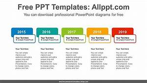 Colorful Text Boxes Powerpoint Diagram For Free