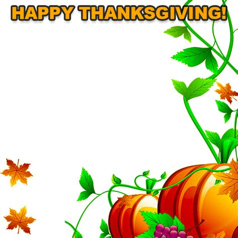 thanksgiving borders clip free clipart best