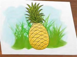 How to Draw a Pineapple: 9 Steps (with Pictures) - wikiHow