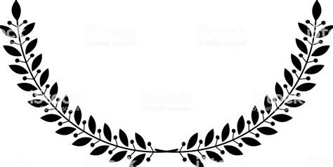 Laurel Wreath Floral Heraldic Element Heraldic Coat Of