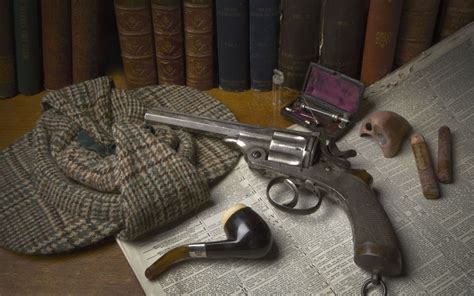 sherlock holmes museum london exhibition items guns biggest years el opens telegraph detective wonderfully evocative