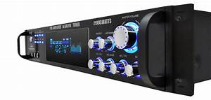Pyle Pro P2001at Hybrid Amp  U0026 Am