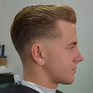 3 Vintage Slick Pompadour Styles: Barber Brian Burt