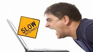 Slow internet actually can stress you out