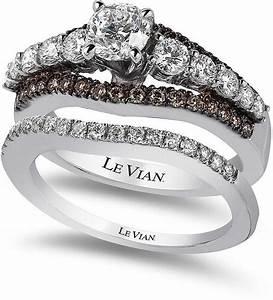 le vian bridal chocolate diamond and white certified With chocolate diamond wedding ring set