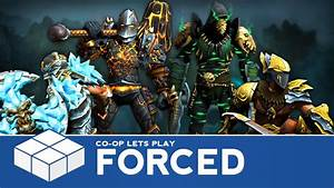 Forced | 4 Player Co-Op Gameplay - YouTube