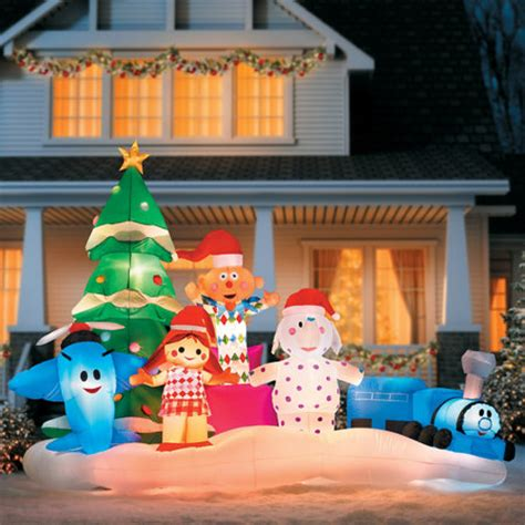 rudolph s island of misfit toys christmas inflatable improvements catalog