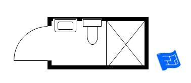 Floor Plan Small Bathroom by Small Bathroom Floor Plans
