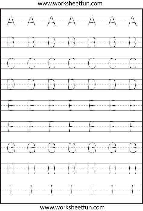 Letter Tracing  3 Worksheets  Printable Worksheets  Pinterest  Letter Tracing, Worksheets