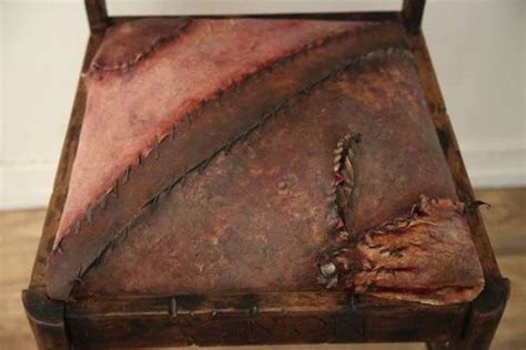 ed gein chair prop 10 gruesome items ed gein made from corpses listverse