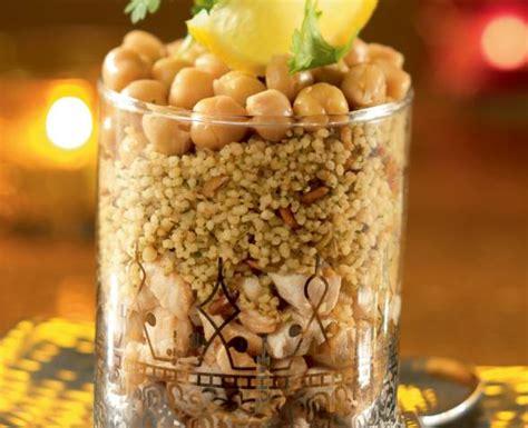 salade de cereales mediterraneennes  poulet au cumin