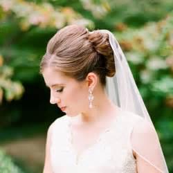 wedding styles wedding hairstyles that work well with veils brides