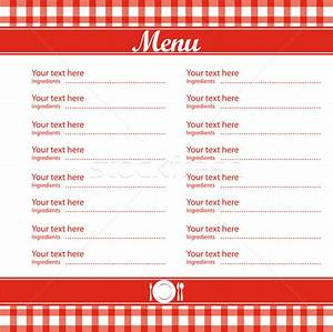 5 Best Images of Free Blank Printable Template Restaurant ...