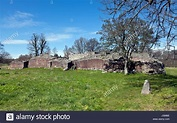 The Gurre Castle Ruin, a Royal castle from the 12th ...