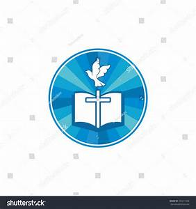 Bible And Dove Symbol