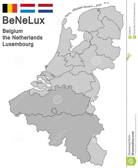 Sind Benelux Staaten by Benelux Countries Stock Vector Image 59465316