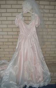 blush color wedding dress and veil for sale in coalville With ksl wedding dress
