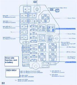 2004 Toyotum Echo Fuse Box
