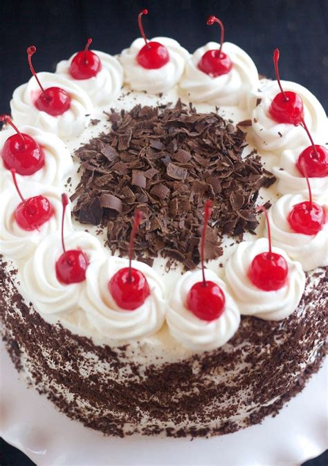 black forest cake recipe  httpwwwcakengiftsinblack