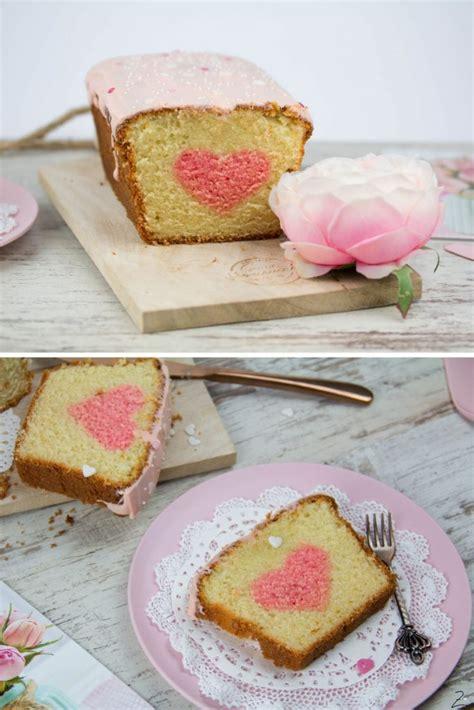 Valentinstag Kuchen Mt Aepfeln by Kuchen Mit Herz Zum Valentinstag