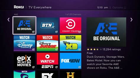 Here Are All Of The Tv Everywhere Channels In The Roku