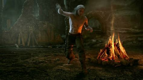 the witcher rise of the white wolf trailer