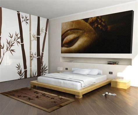 chambre zen quels couleurs meubles  decoration