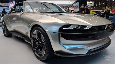 Peugeot Electric Car peugeot s e legend concept is a car for the