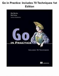 Go in practice includes 70 techniques 1st edition pdf ...