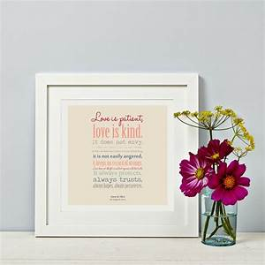 love is patient wedding gift corintian39s reading With gifts for readers at wedding