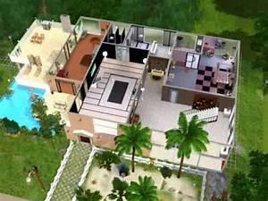 joli maison sur sims 3 youtube With modele de maison a construire