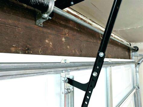 garage door reinforcement bracket garage door reinforcement bracket horizontal garage door