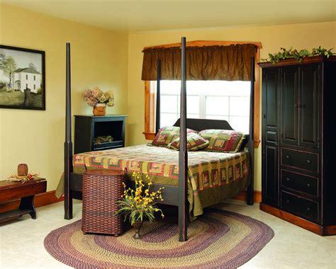 Primitive Bedroom Furnitureamish Made Primitive Style