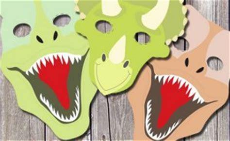 printable dinosaur masks allfreekidscraftscom