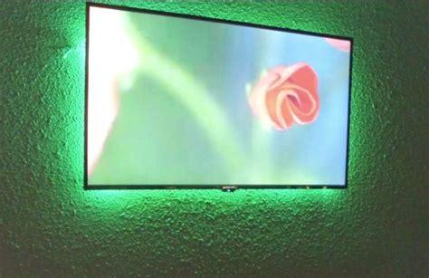 diy build for an led backlight behind tv for under 20