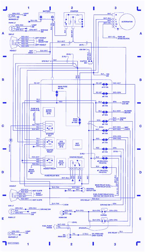 92 Toyotum Camry Fuse Box Diagram by 92 Toyota 4runner Fuse Panel Diagram Wiring Library