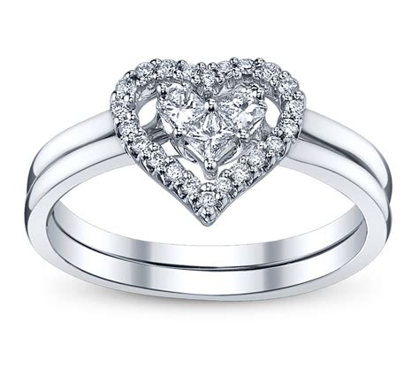 4 Perfect Heart & Bow Diamond Engagement Rings For The