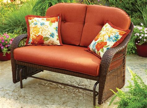 walmart patio glider chair create a spot to contemplate meditate or vegetate with