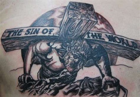 the sin of the world tattoo