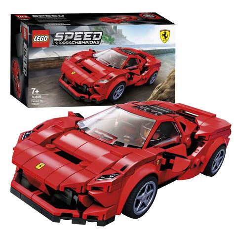 Racing enthusiasts of all ages will love to build this mini replica from lego bricks. LEGO Speed Champions 76895 Ferrari F8 Tributo online kopen ...