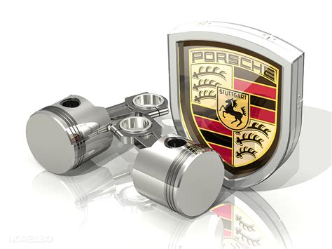 Porsche Parts by Porsche Logo Illustrations Norebbo